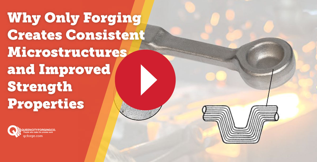 Why Only Forging Creates Consistent Microstructures and Improved Strength Properties