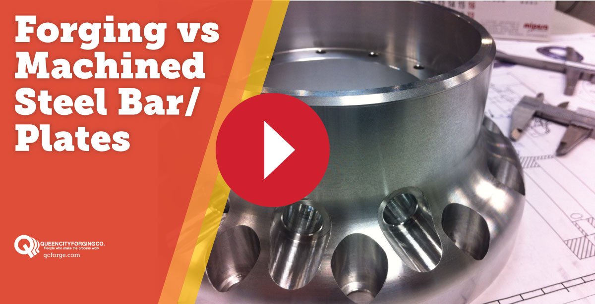 Forging vs Machined Steel Bar/Plates