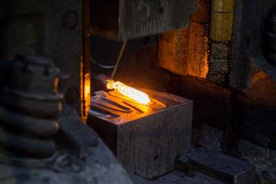 Cold, Warm, and Hot Forging