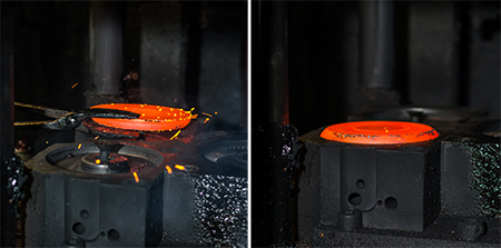 Copper Forging Process
