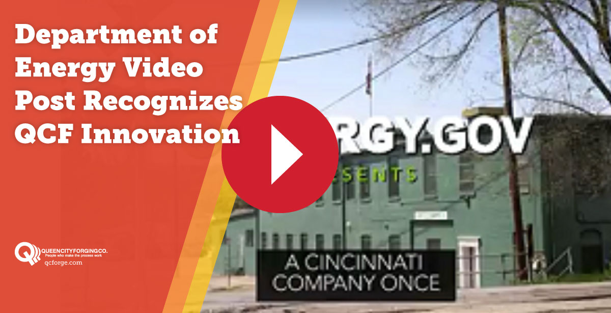 Department of Energy Video Post Recognizes QCF Innovation