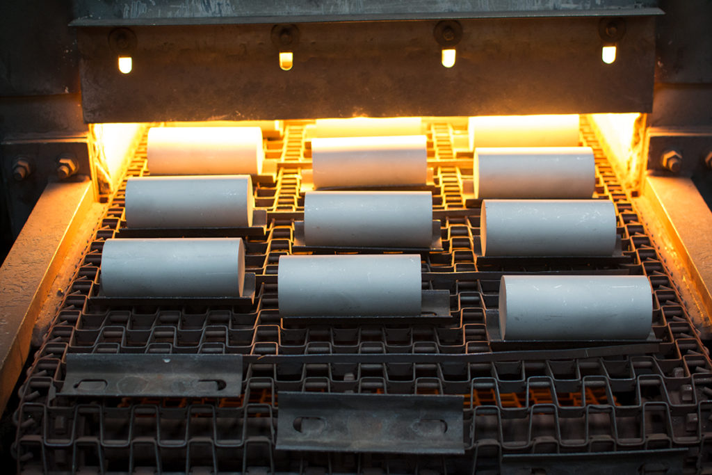 Rapid IR Heating for Aluminum Hot Forging
